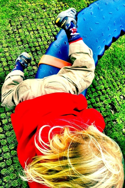 Sunday playground fun