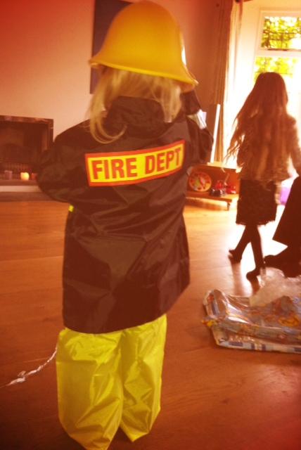 Birthday fireman
