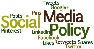 social media policy helps set clear boundaries