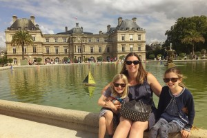 Jardin de Luxembourg in Summer