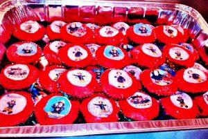 Sunday Fireman cupcakes