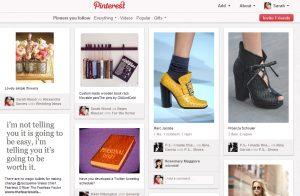 Pinterest's mashup approach to visual data can be very inspiring