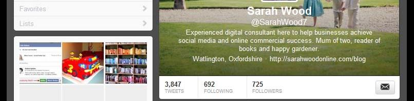 Twitter profile change