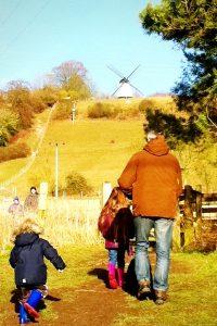 Sunday windmill