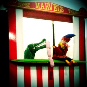 Silent Sunday: Old-fashioned Punch & Judy