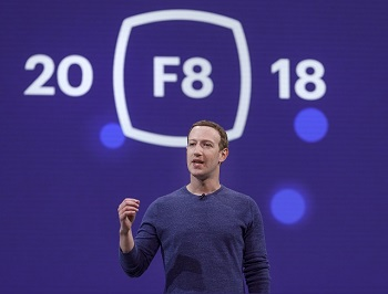 Mark Zuckerberg talks Facebook's quest to take over the internet at F8 2018